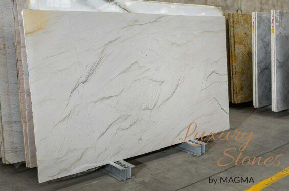 kwarcyt MONT BLANC CALACATTA poler Luxury Stones (2)